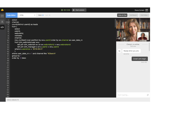 Wyzant online coding tools for tutors